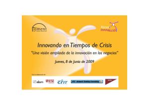 FOMENT DEL TREBALL INNOVANDO EN TIEMPOS DE CRISIS 2009 06 08
